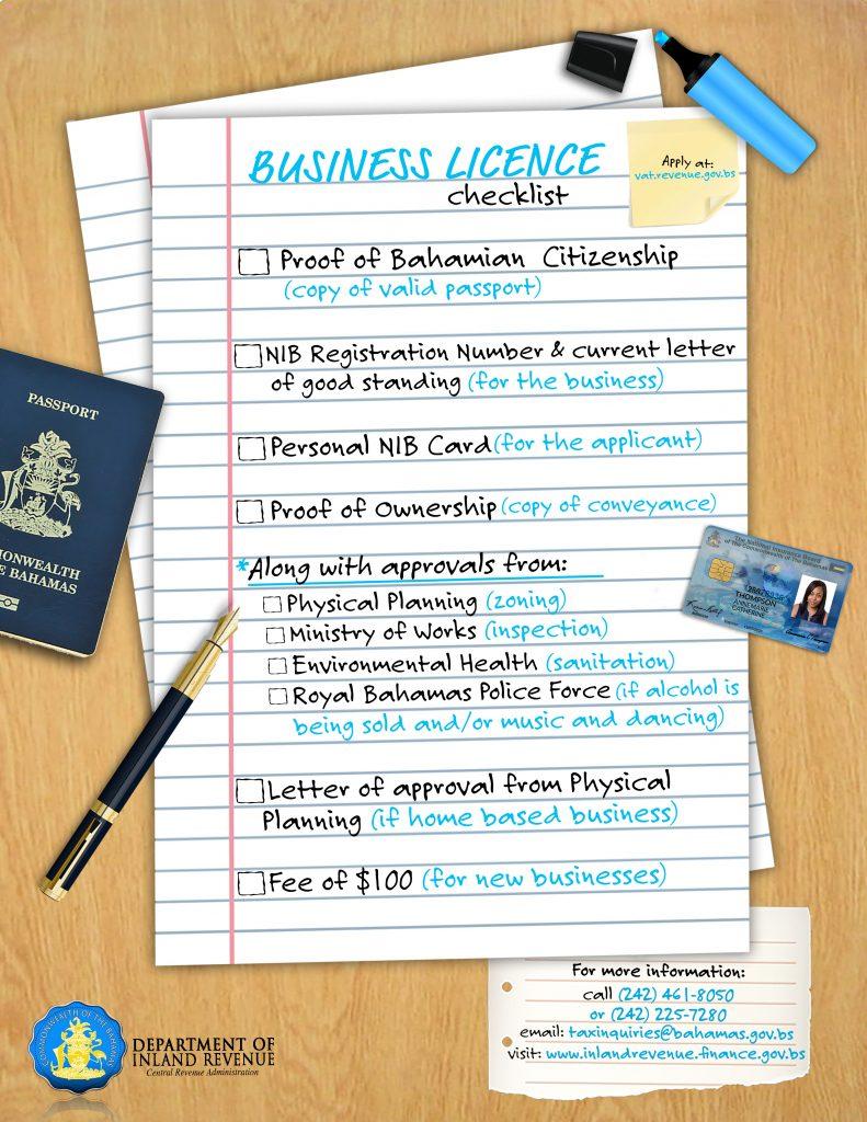 BLCHECKLIST - Department of Inland Revenue